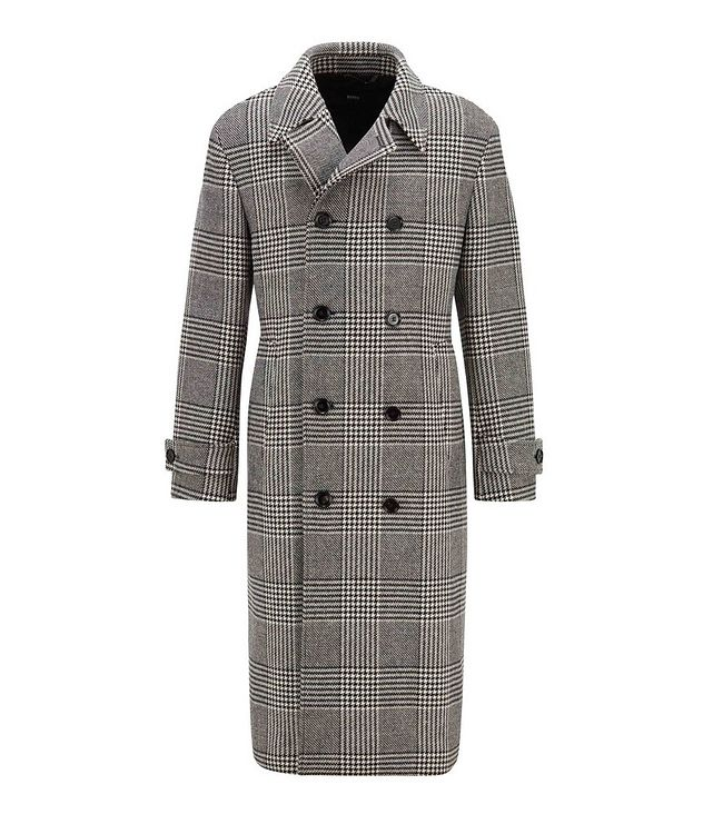 Godeon Double-breasted Wool Coat picture 1