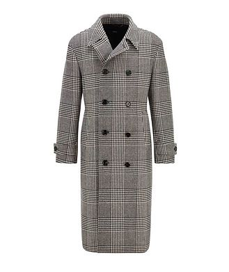 BOSS Godeon Double-breasted Wool Coat