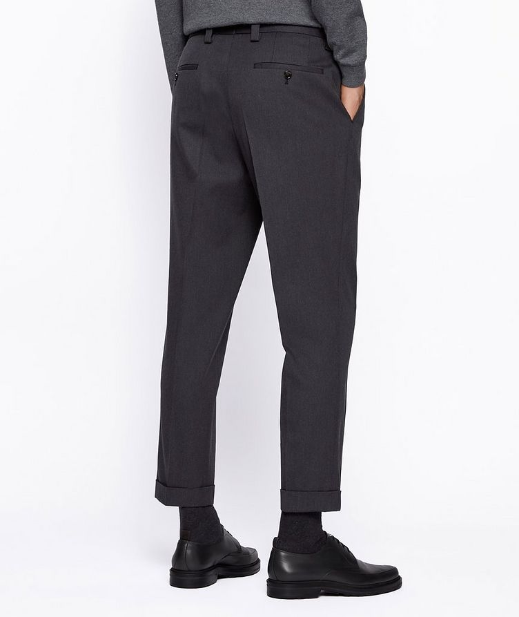 Oversized Cotton-Wool Trousers image 2