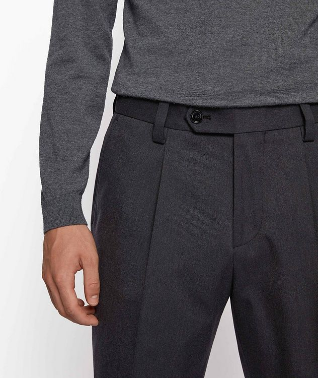 Oversized Cotton-Wool Trousers picture 4