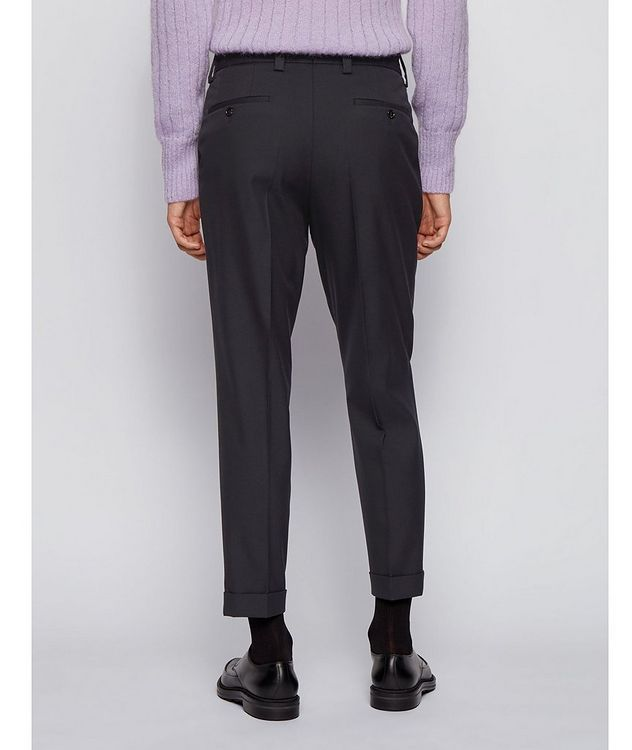 Oversized Cotton-Wool Trousers picture 3