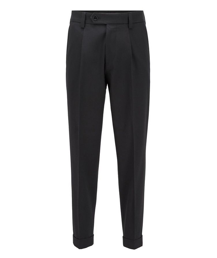 Oversized Cotton-Wool Trousers image 0