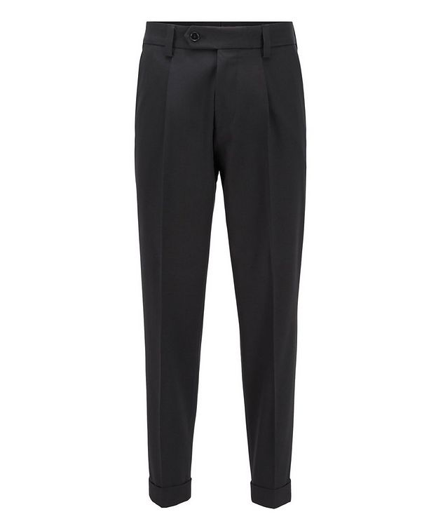 Oversized Cotton-Wool Trousers picture 1