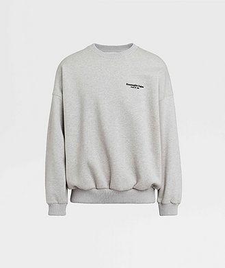 Fear of God Ermenegildo Zegna Printed Cotton-Blend Sweatshirt