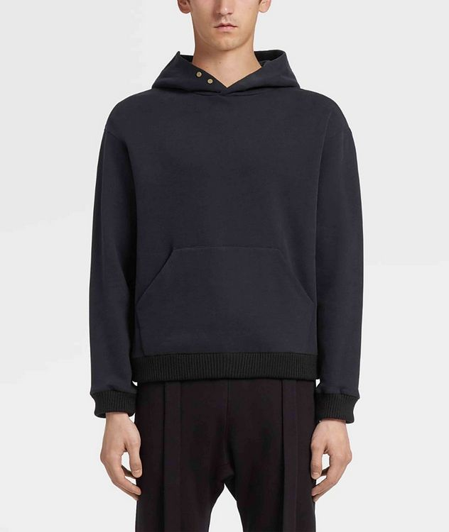 Cotton-Cashmere Hoodie picture 2