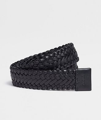 Fear of God Ermenegildo Zegna Woven Leather Belt