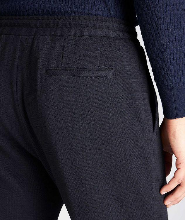 Slim Fit Cashmere-Cotton Trousers picture 3