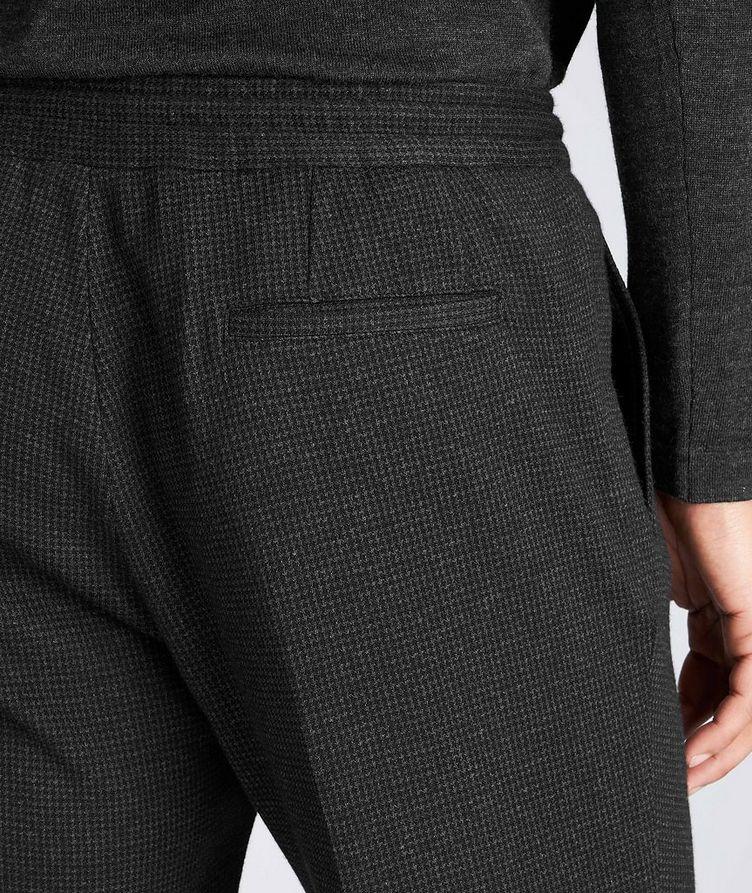 Slim Fit Cashmere-Cotton Trousers image 2