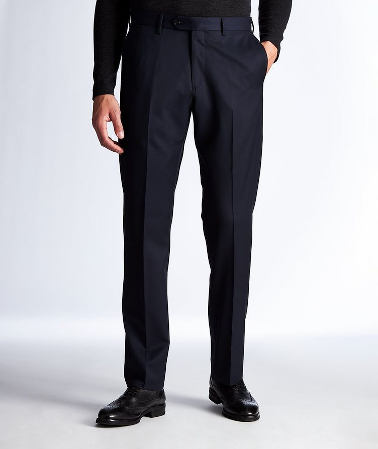 Contemporary Fit Wool Dress Pants image 0