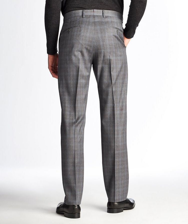 Checked Wool Dress Pants image 1