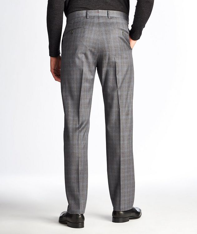 Checked Wool Dress Pants picture 2