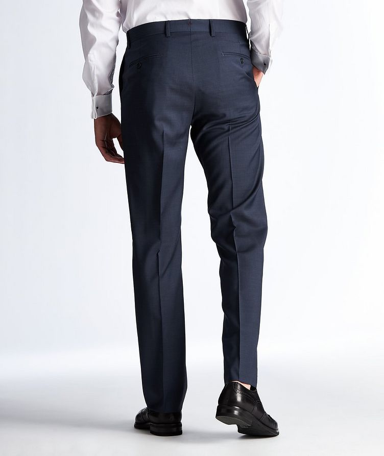 Textured Wool Dress Pants image 1