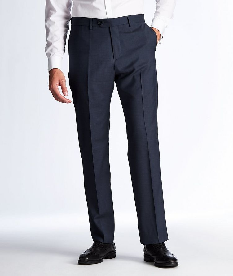 Textured Wool Dress Pants image 0