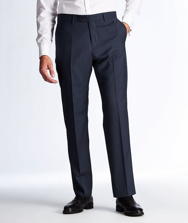 Textured Wool Dress Pants picture 1