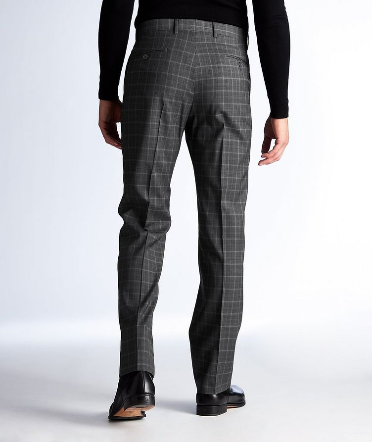 Plaid Wool Dress Pants image 1