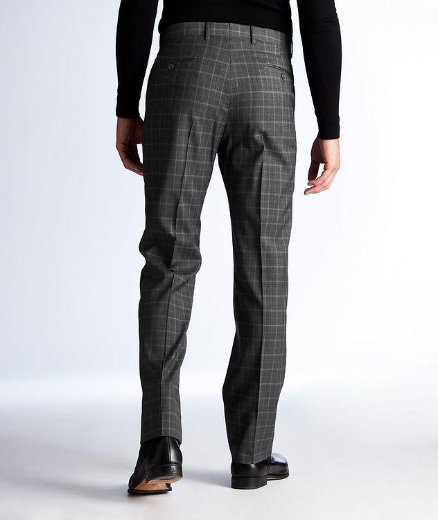 Plaid Wool Dress Pants picture 2