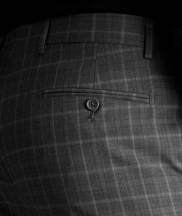 Plaid Wool Dress Pants picture 3
