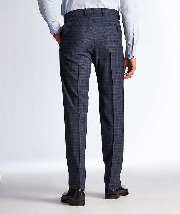 Pantalon habillé en laine à motif quadrillé picture 2