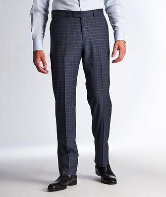 Harry Rosen Pantalon habillé en laine à motif quadrillé