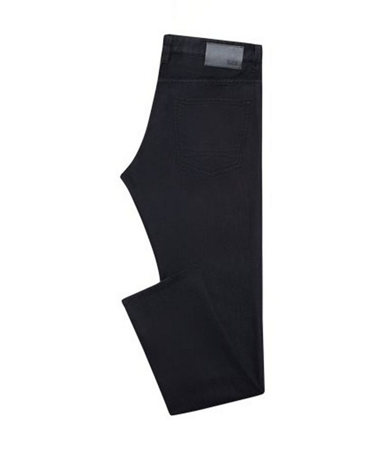 Delaware Slim Fit French Terry Jeans image 0