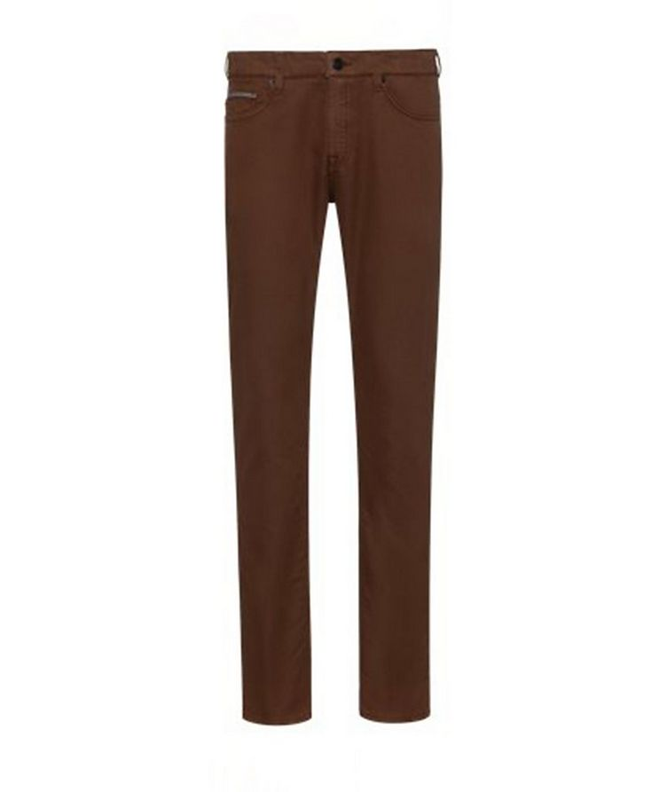 Delaware Slim Fit French Terry Jeans image 1