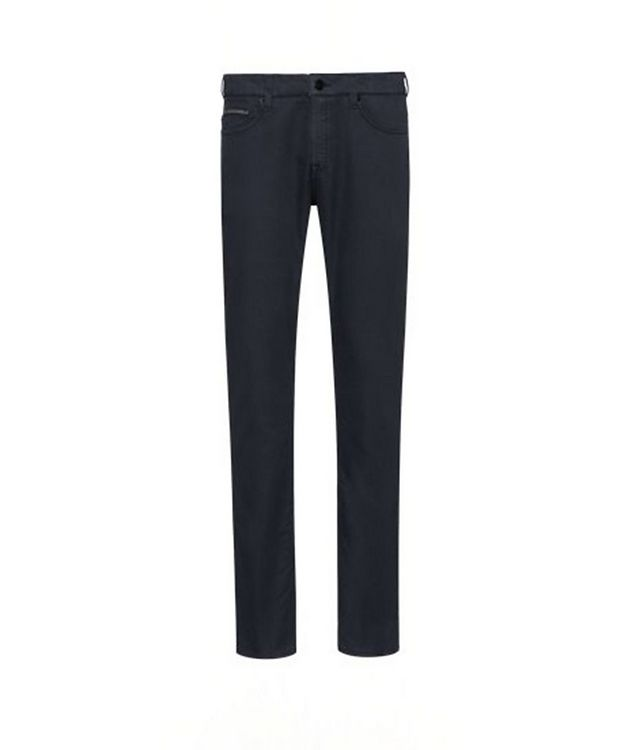 Delaware Slim Fit French Terry Jeans picture 2