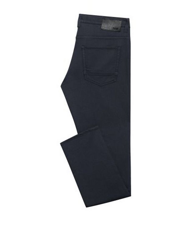Delaware Slim Fit French Terry Jeans picture 1