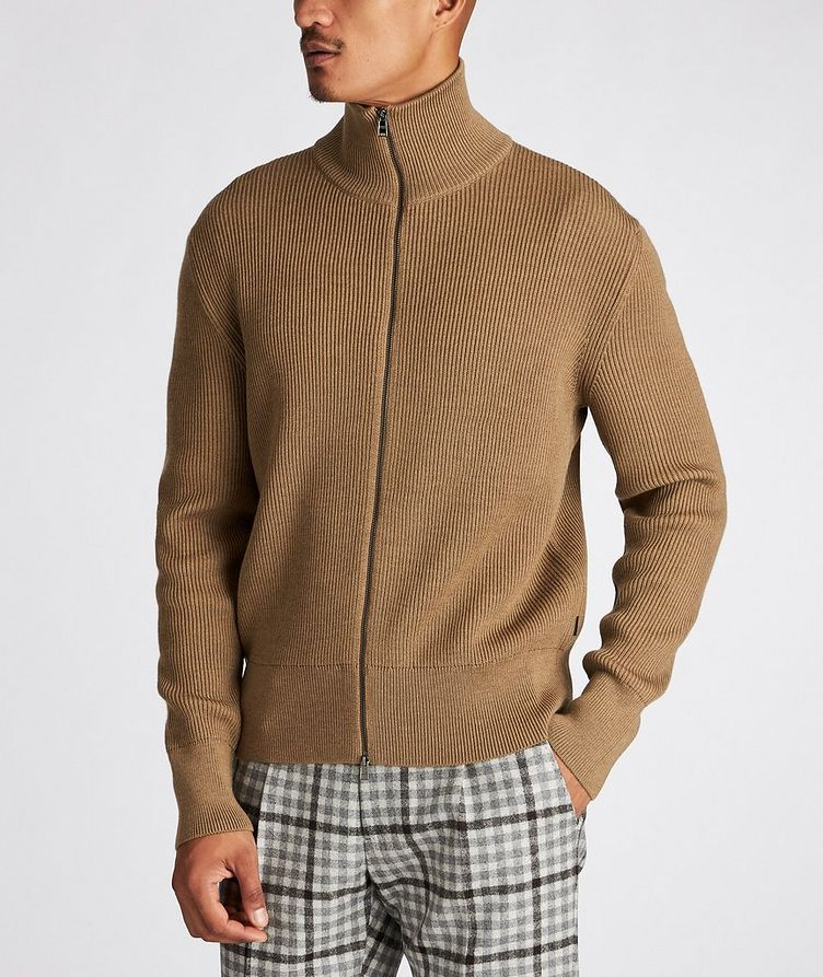 Mare Ribbed-Knit Virgin Wool Sweater image 1