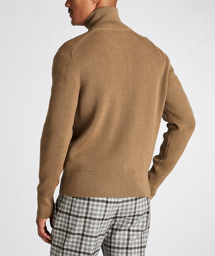 Mare Ribbed-Knit Virgin Wool Sweater image 2