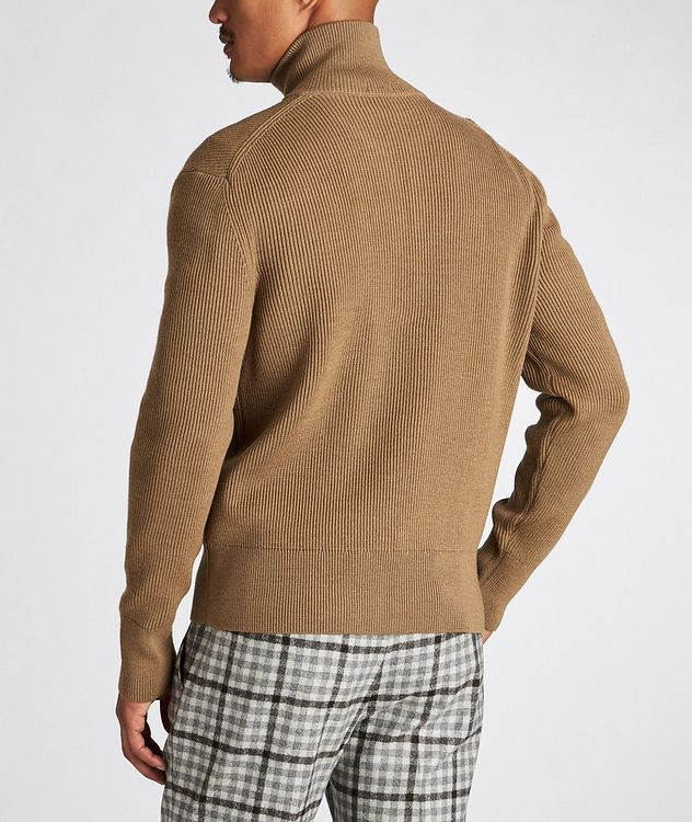 Mare Ribbed-Knit Virgin Wool Sweater picture 3