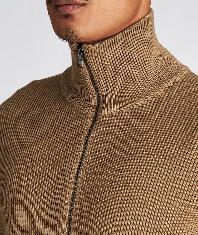 Mare Ribbed-Knit Virgin Wool Sweater image 3