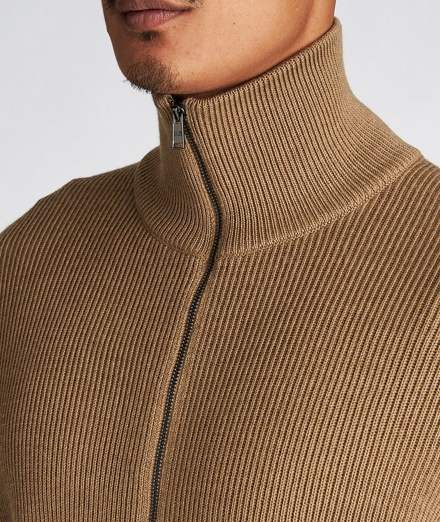 Mare Ribbed-Knit Virgin Wool Sweater picture 4