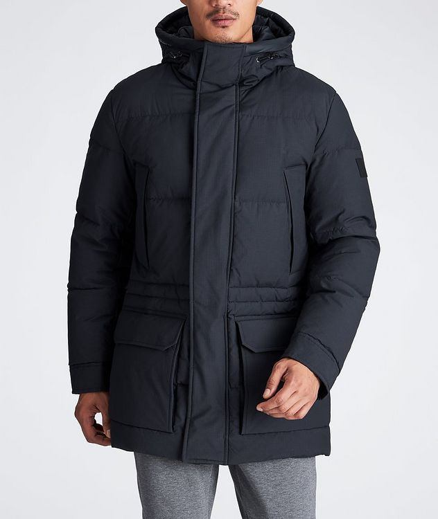 Water-Repellent Down Parka picture 2