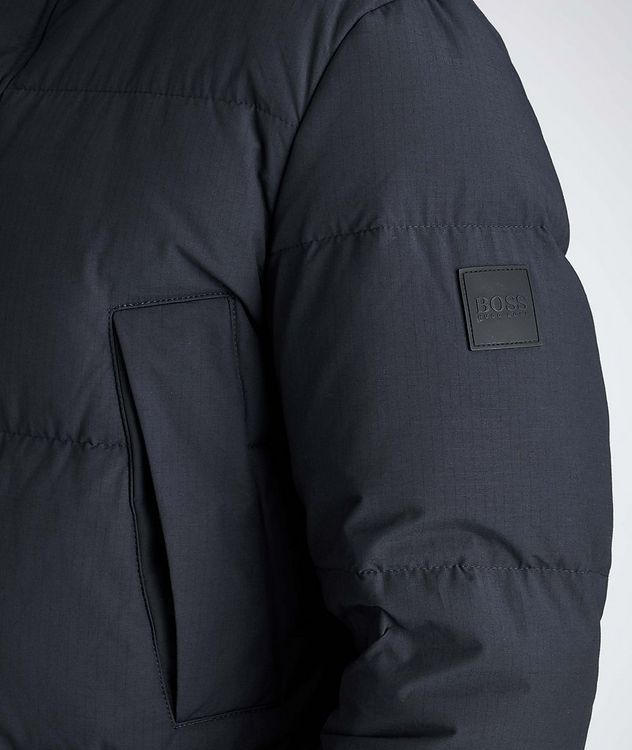 Water-Repellent Down Parka picture 4