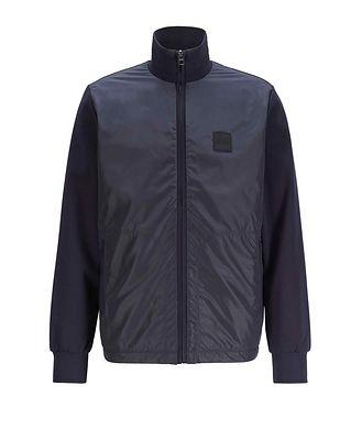 BOSS Reversible Zip-Up Sweatshirt