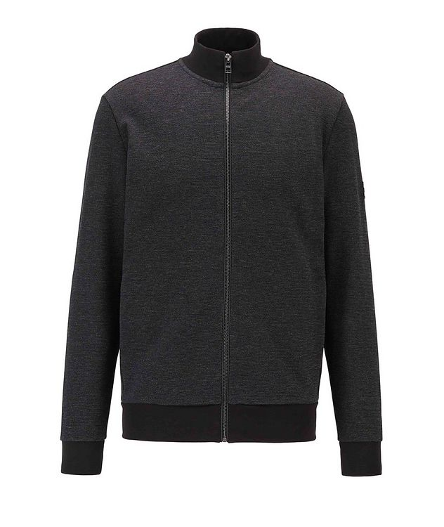Zip-Up Cotton Sweatshirt picture 1
