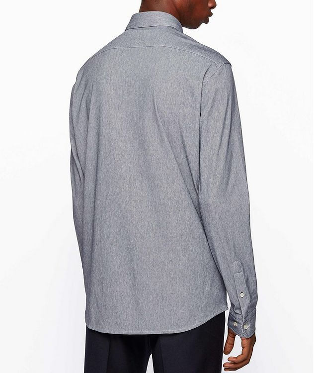 Contemporary Fit Stretch Printed Shirt picture 3