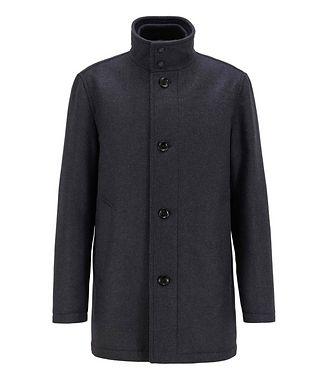 BOSS Coxtan9 Funnel-neck Coat