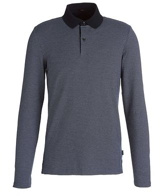 BOSS Pleins Long-Sleeve Polo