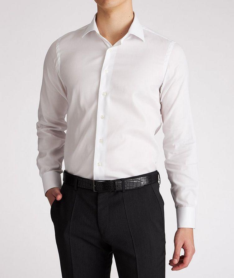 Slim Fit Cotton Dress Shirt image 1