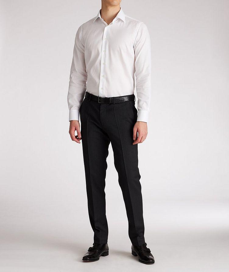 Slim Fit Cotton Dress Shirt image 4