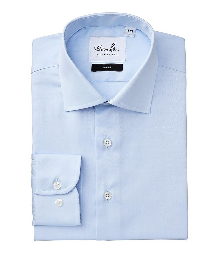 Slim Fit Cotton Dress Shirt image 0