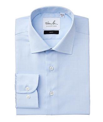 Harry Rosen Signature Chemise habillée en coton de coupe amincie