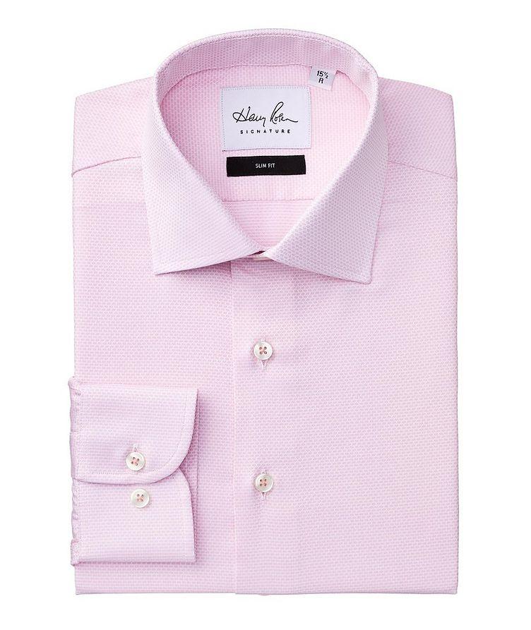 Slim Fit Neat-Printed Cotton Dress Shirt image 0