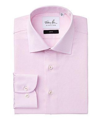 Harry Rosen Signature Slim Fit Neat-Printed Cotton Dress Shirt