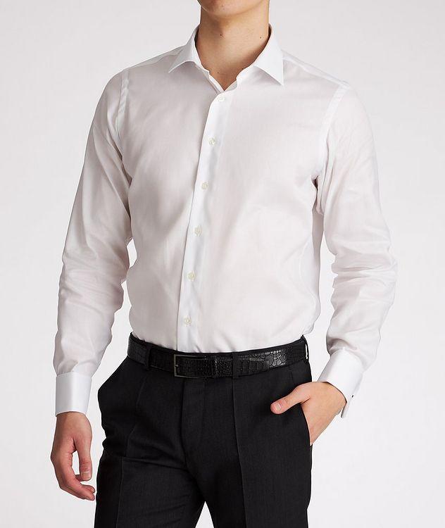 Chemise de soirée en coton de coupe contemporaine picture 2