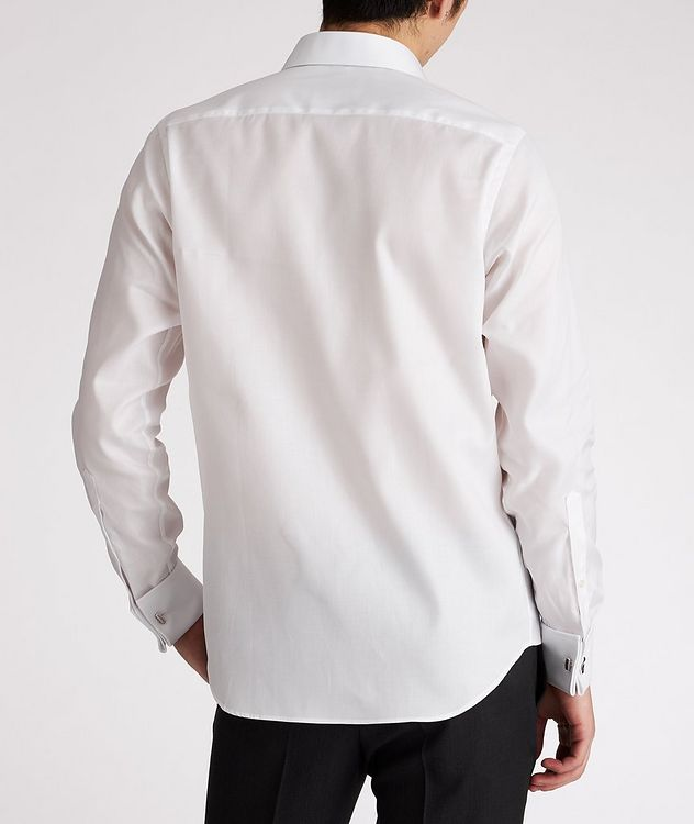 Chemise de soirée en coton de coupe contemporaine picture 3