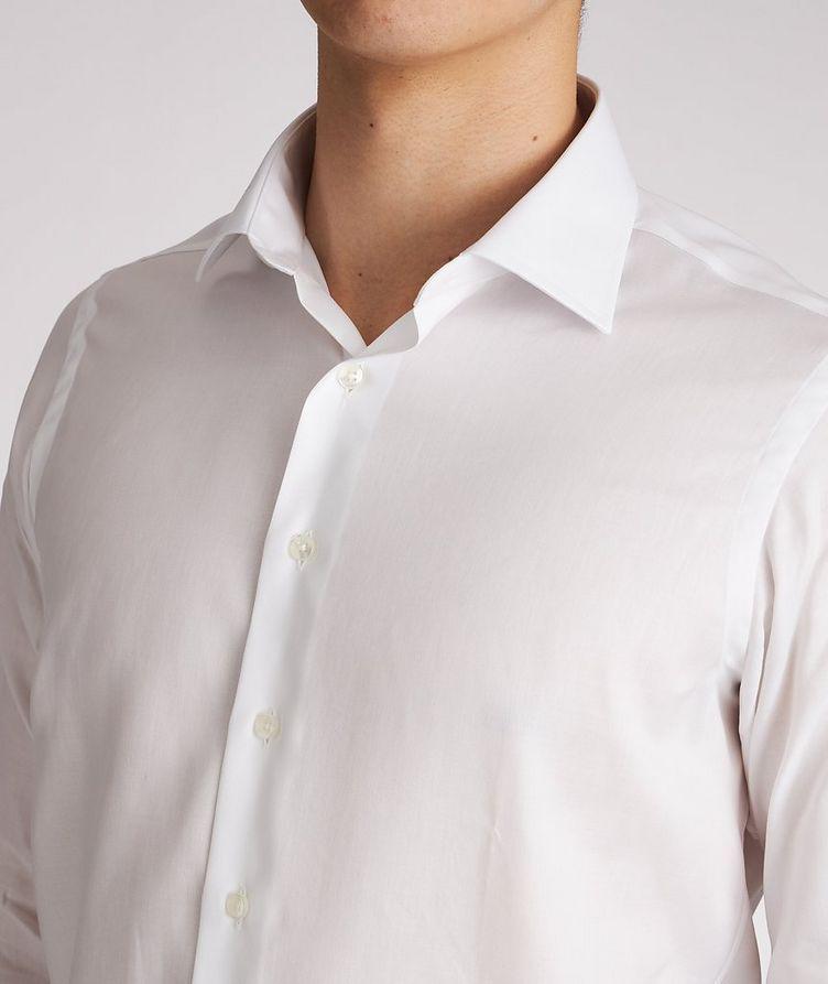 Chemise de soirée en coton de coupe contemporaine image 3