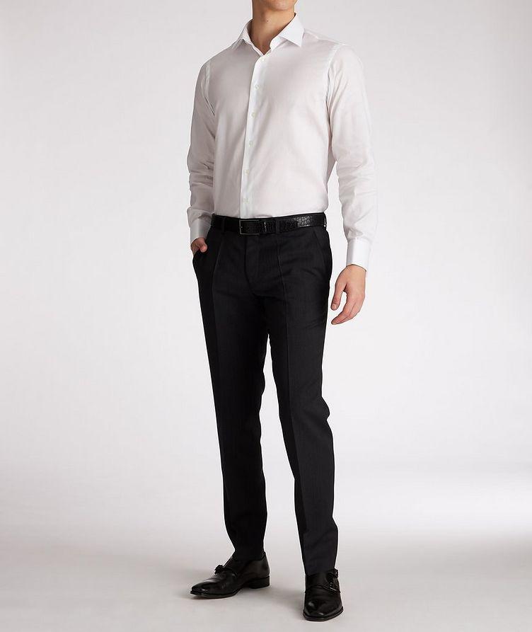 Chemise de soirée en coton de coupe contemporaine image 4