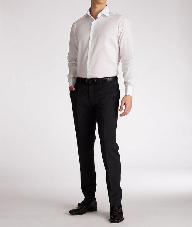 Chemise de soirée en coton de coupe contemporaine picture 5